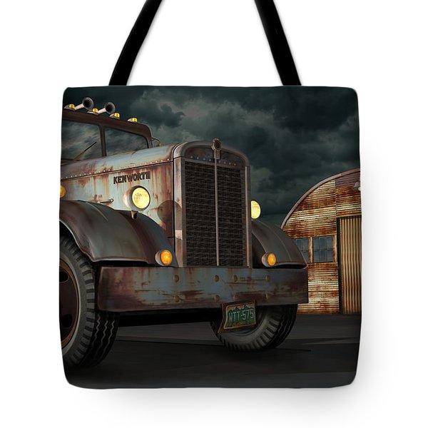 1950 Kenworth Tote Bag