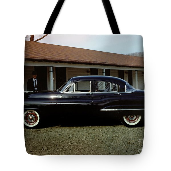 1950 Oldsmobile Futuramic 88 Convertible Tote Bag