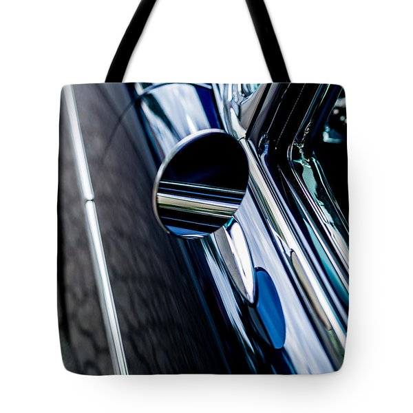 Tote Bag featuring the photograph 1950s Chevrolet by M G Whittingham
