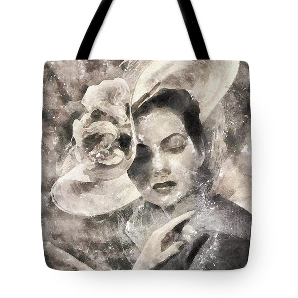 1950's Chic Tote Bag