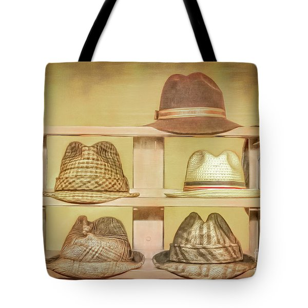 1950s Hats Tote Bag