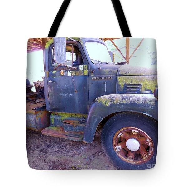 1950s International Truck Tote Bag