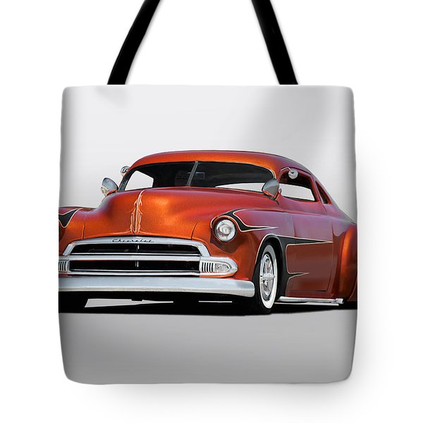 1951 Chevrolet Custom Coupe Tote Bag by Dave Koontz
