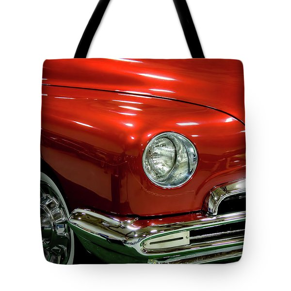 1951 Classic Lincoln Coupe Tote Bag