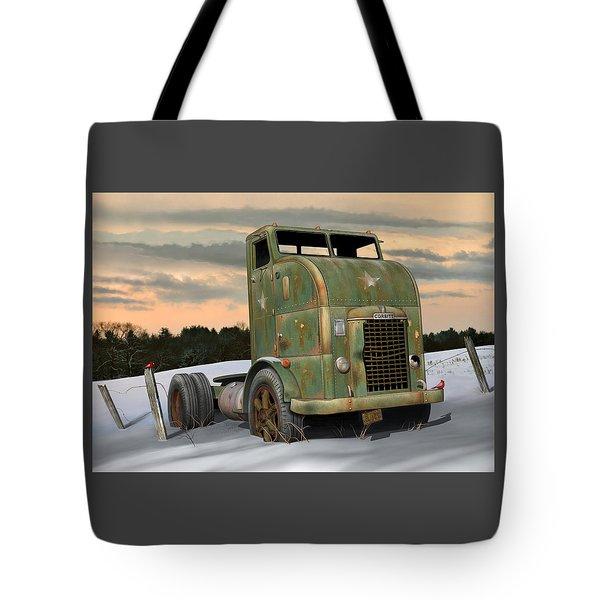 Tote Bag featuring the digital art 1951 Corbitt by Stuart Swartz