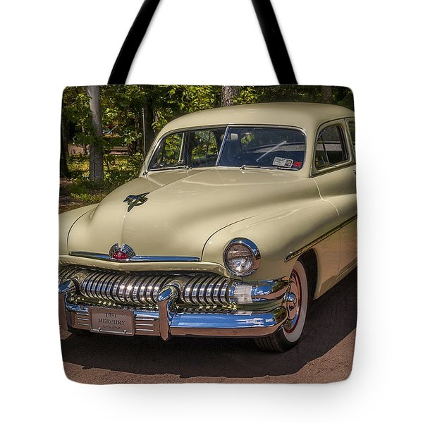 1951 Mercury 4 Door Sedan Tote Bag