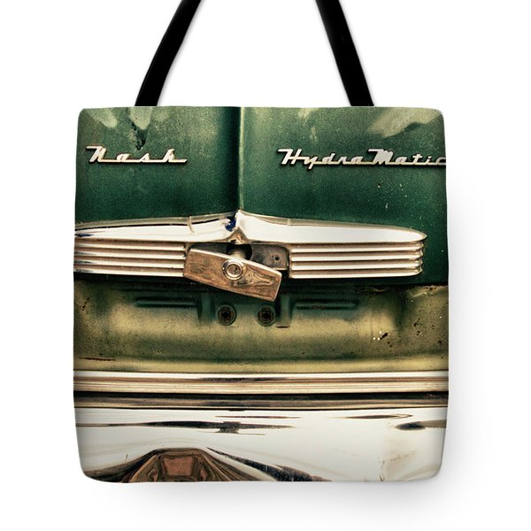 1951 Nash Ambassador Hydramatic Tote Bag by James BO  Insogna