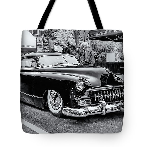 1951 Chevy Kustomized  Tote Bag by Ken Morris