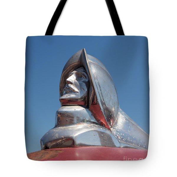 1952 Desoto Hood Ornament Tote Bag