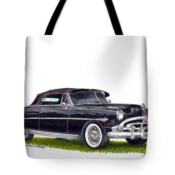 1952 Hudson Hornet Convertible Tote Bag by Jack Pumphrey