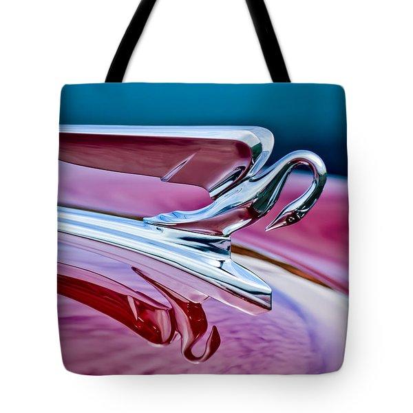 1952 Packard 400 Hood Ornament Tote Bag by Jill Reger