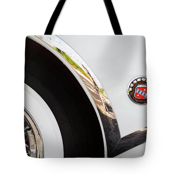 Tote Bag featuring the photograph 1953 Buick Abstract 2 by Dennis Hedberg