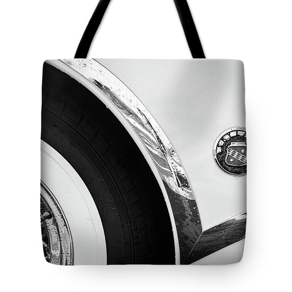 Tote Bag featuring the photograph 1953 Buick Abstract  by Dennis Hedberg