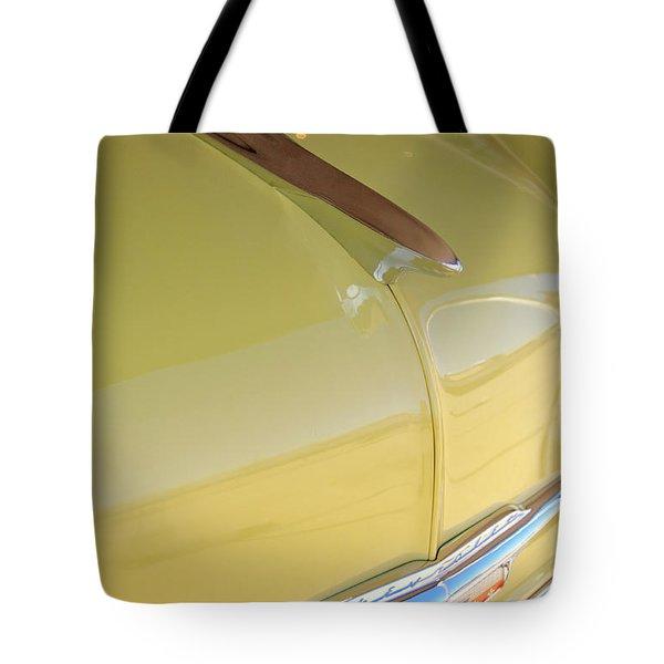 1953 Chevrolet Bel Air Hood Ornament Tote Bag by Jill Reger