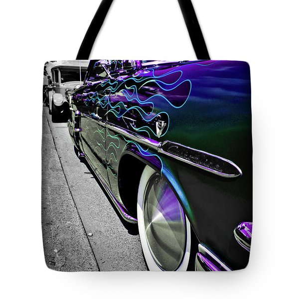1953 Ford Customline Tote Bag by Joann Copeland-Paul