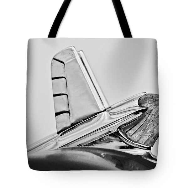 1953 Pontiac Hood Ornament 2 Tote Bag by Jill Reger