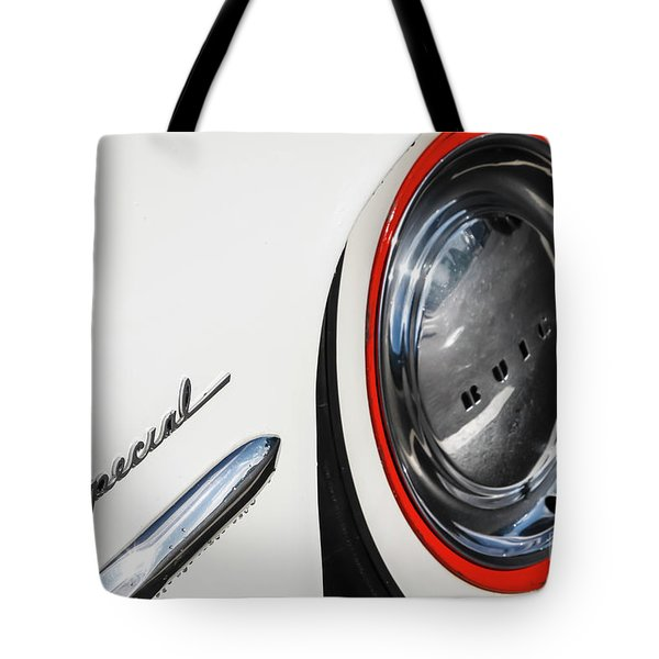 Tote Bag featuring the photograph 1953 Special by Dennis Hedberg