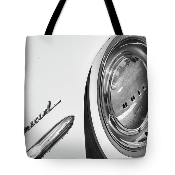 Tote Bag featuring the photograph 1953 Special Monotone by Dennis Hedberg
