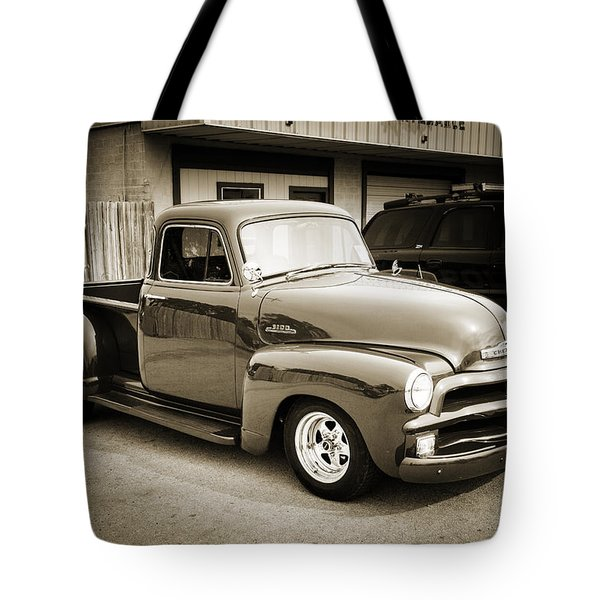 1954 Chevrolet Pickup Classic Car Photograph 6736.01 Tote Bag