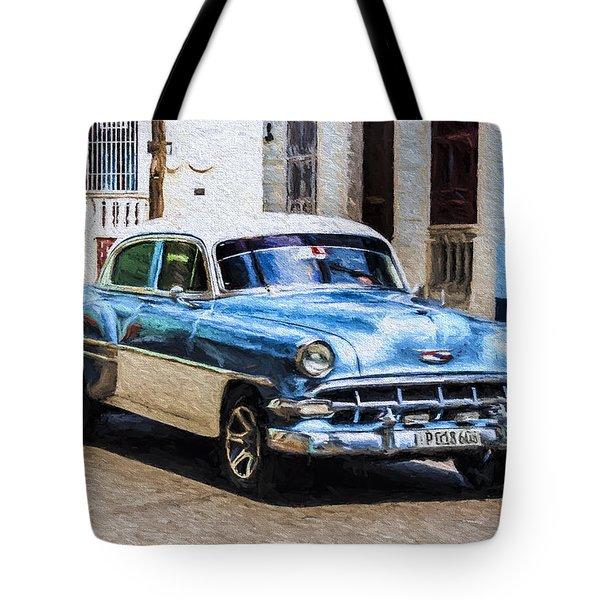 1954 Chevy Cuba Tote Bag