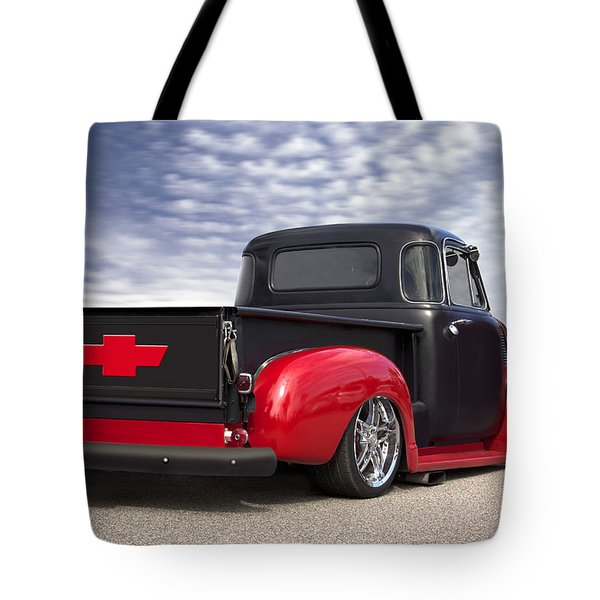 1954 Chevy Truck Lowrider Tote Bag