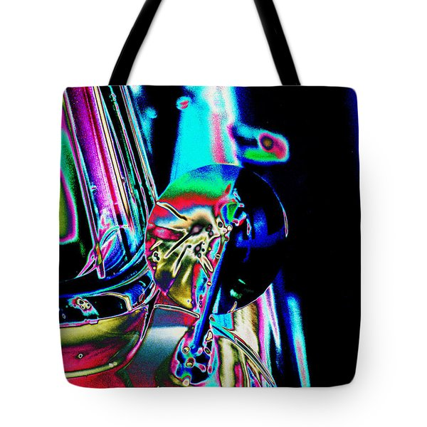 1954 Ford Side Mirror Tote Bag