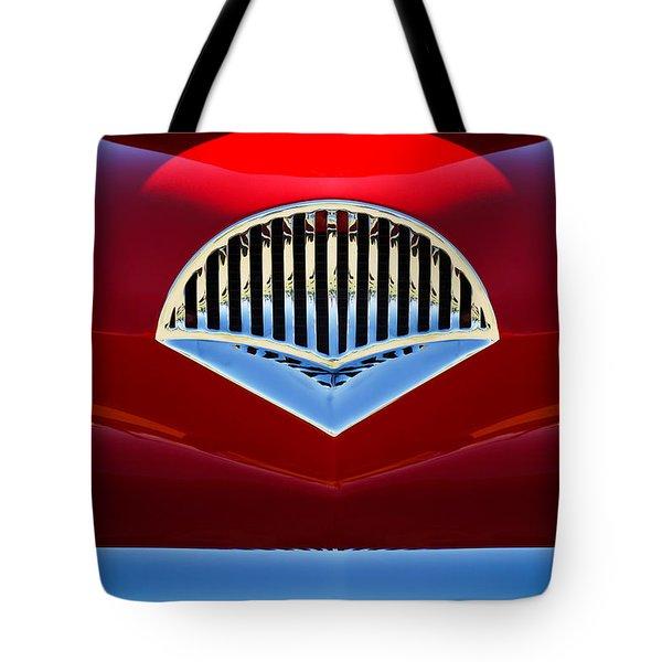 1954 Kaiser Darrin Grille Tote Bag by Jill Reger