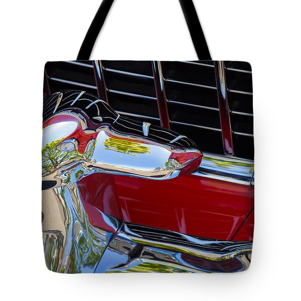 1955 Chevy Coupe Grill Tote Bag