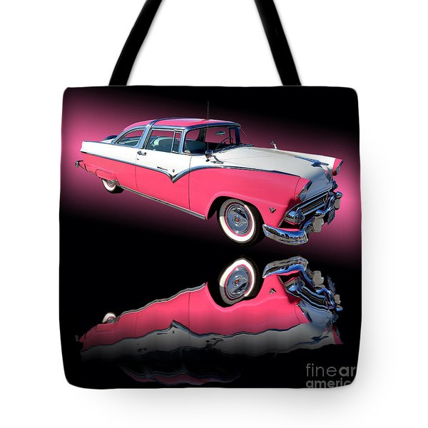 1955 Ford Fairlane Crown Victoria Tote Bag