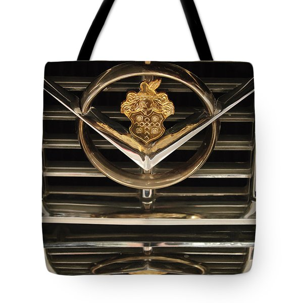 1955 Packard Hood Ornament Emblem Tote Bag by Jill Reger