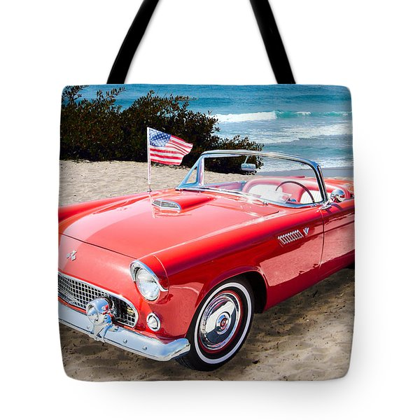1955 Thunderbird Photograph Fine Art Prints 1246.02 Tote Bag by M K  Miller