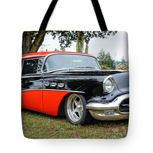 1956 Buick Riviera Tote Bag by Ronda Broatch