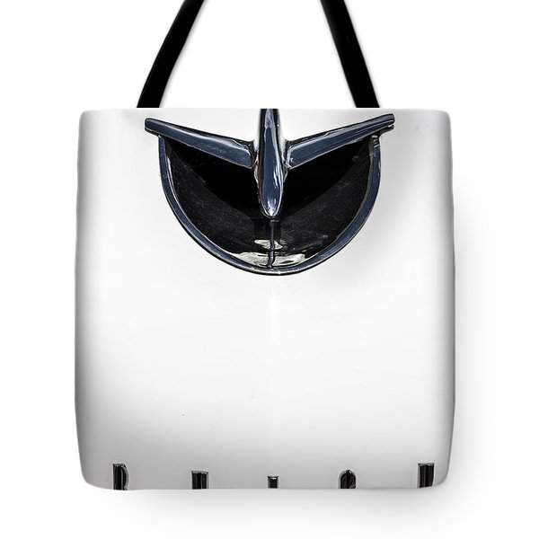1956 Buick Special Hood Ortiment Tote Bag
