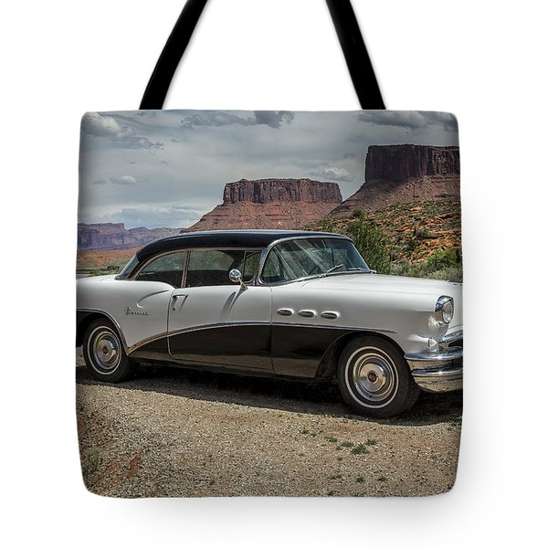 1956 Buick Special Tote Bag