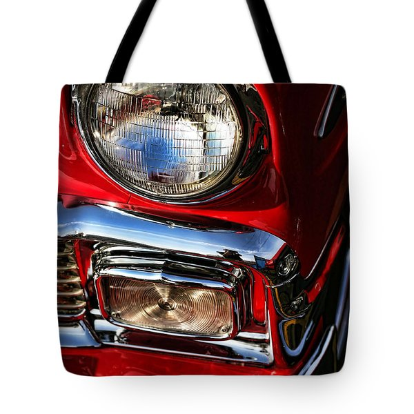 1956 Chevrolet Bel Air Tote Bag