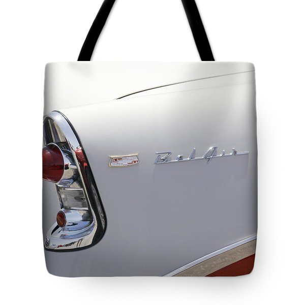 1956 Chevy Belair Tote Bag by Mike McGlothlen
