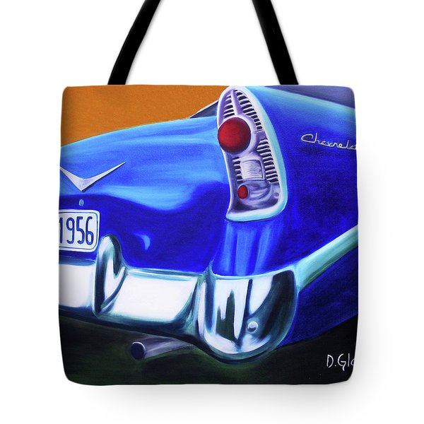 1956 Chevy Tote Bag