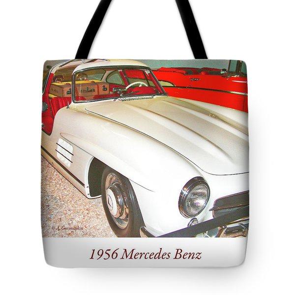 1956 Mercedes Benz Tote Bag