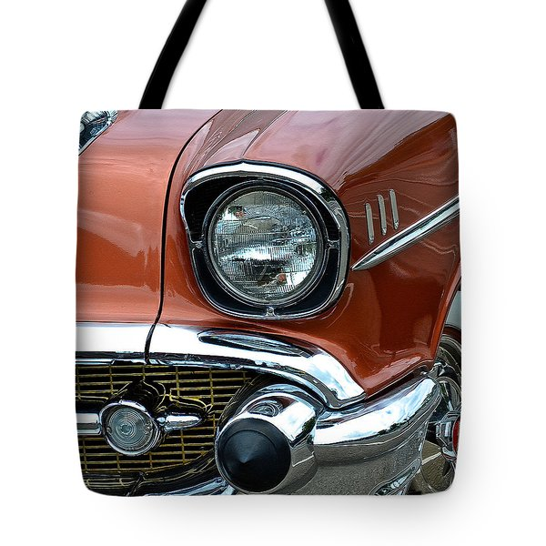 1957 Chevy Tote Bag by Bill Owen