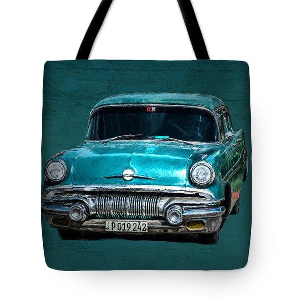 1957 Pontiac Bonneville Tote Bag