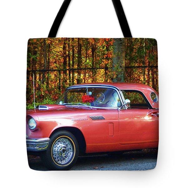 1957 Thunderbird  003 Tote Bag
