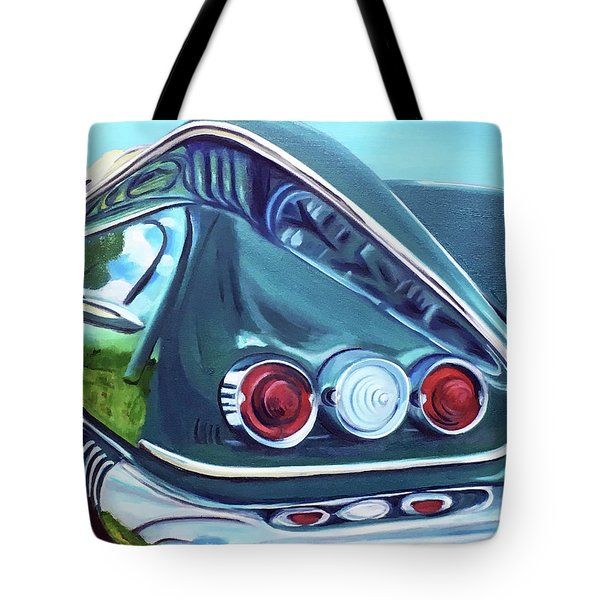 1958 Reflections Tote Bag