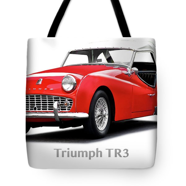 1958 Triumph Tr3 Roadster I Tote Bag