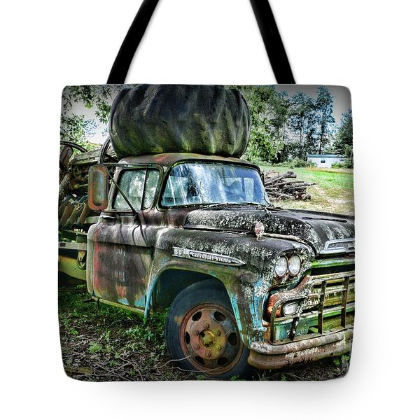 Tote Bag featuring the photograph 1959 Chevrolet Viking 60 by Paul Ward