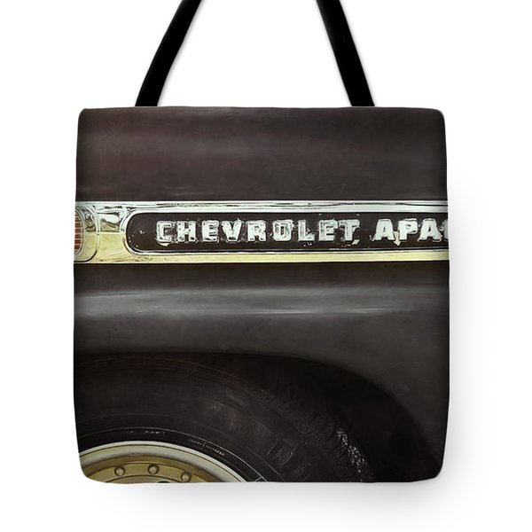 1959 Chevy Apache Tote Bag