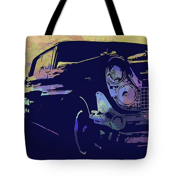 1959 Lincoln Continental Abs Tote Bag