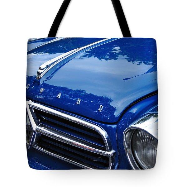1960 Borgward Isabella Coupe Tote Bag by Kaye Menner