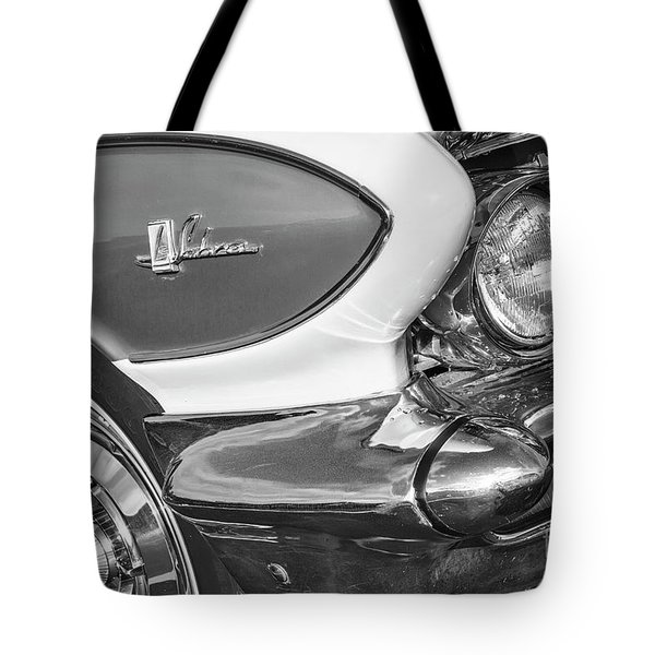 Tote Bag featuring the photograph 1961 Le Sabre Monotone by Dennis Hedberg