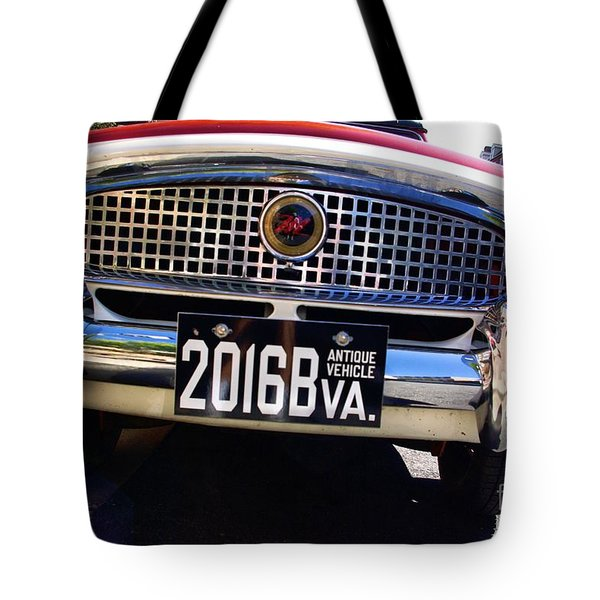1961 Nash Metropolitan Tote Bag by John S