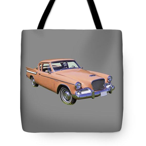 1961 Studebaker Hawk Coupe Tote Bag